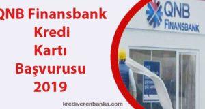 qnb finansbank kredi kartı başvurusu 2019