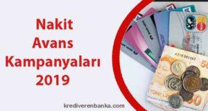 nakit avans kampanyaları 2019