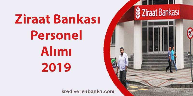 ziraat bankası personel alımı 2019 başvuruları