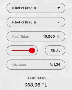 Ziraat Bankası 10.000 tl İhtiyaç Kredisi