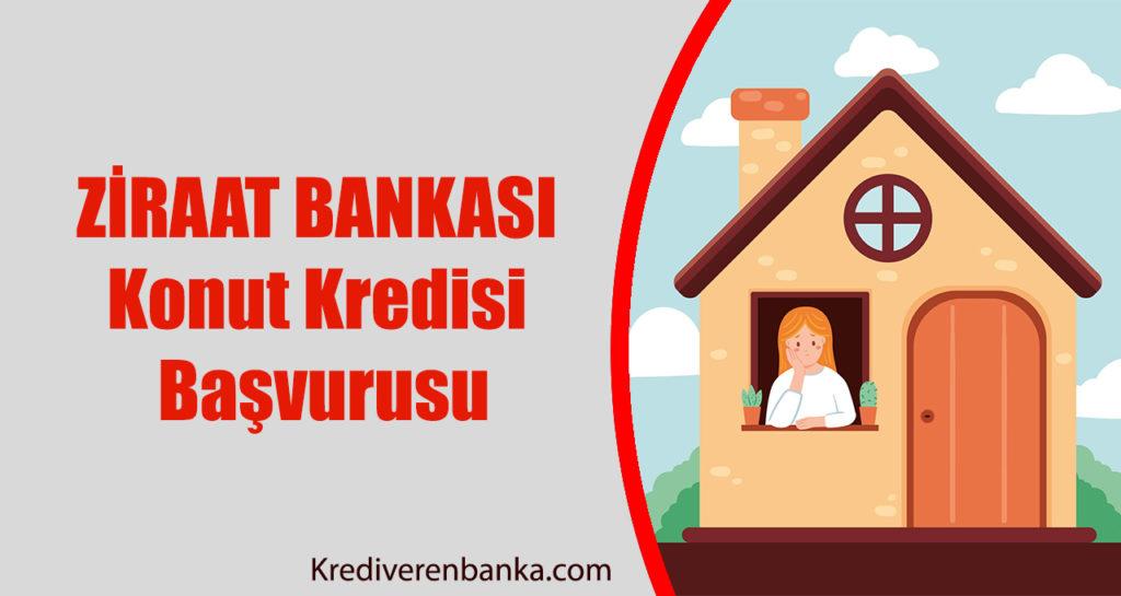 Ziraat Bankası 100 Bin TL Konut Kredisi Başvurusu
